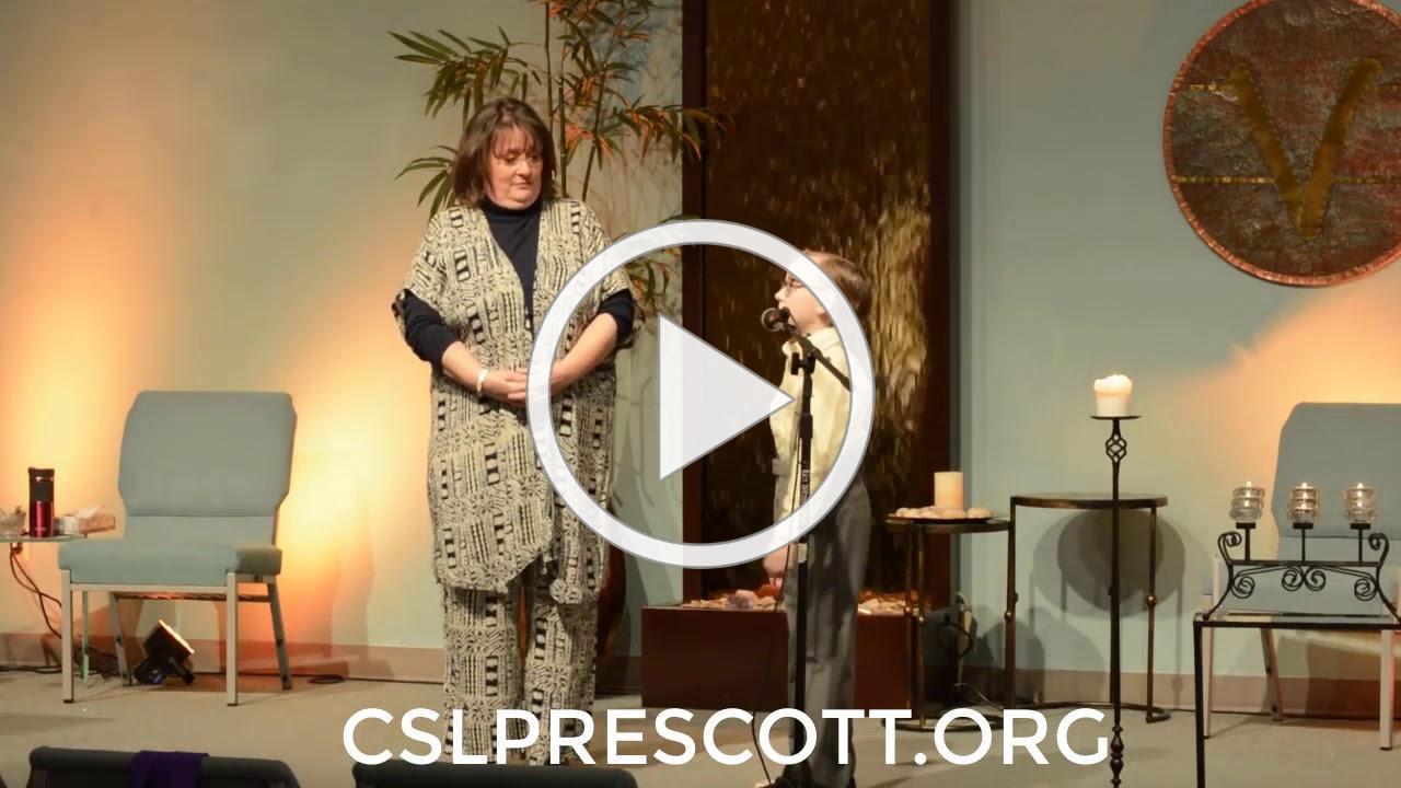 CSL Prescott Sunday Service March 22, 2020