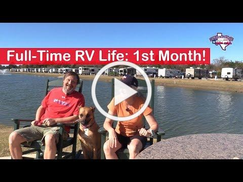 Full-Time RV Life: Was Our First Month What We Expected? | RV Texas Y'all