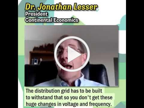 Dr. Jonathan Lesser on the Challenges Of Rooftop Solar