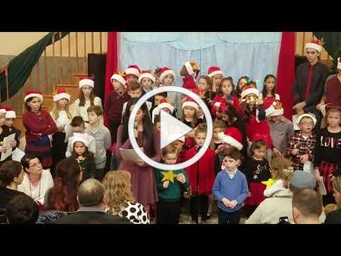 Welcome, Benvenuti, 2018 Christmas Village, Italian Language Program Presentation