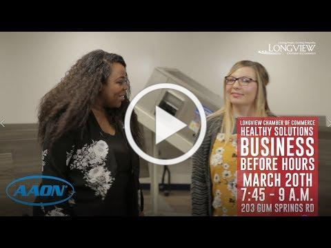 2019 Business Before Hours - Healthy Solutions Edition at AAON Coil Products, Inc.
