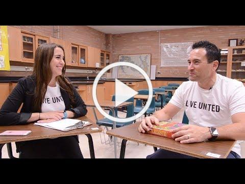 Edmund Marquez: From the High School Hallway to United Way