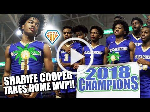 Sharife Cooper TAKES HOME MVP of 2018 City of Palms!! | McEachern REMAINS UNDEFEATED