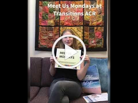Meet Us Mondays Episode 3 at Transitions ACR w/Laura Golden, Research Project Director