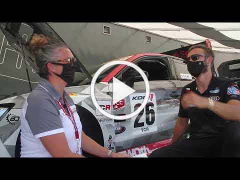 Return to racing interview with Theo and Tiffany at CTMP