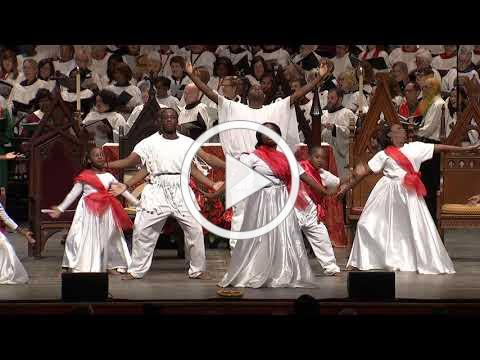 Liturgical dance at the consecration of Bishop Carlye J. Hughes of Newark