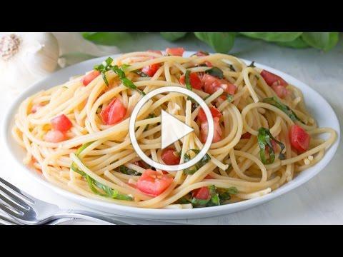 15 Minute Italian Summer Garden Pasta