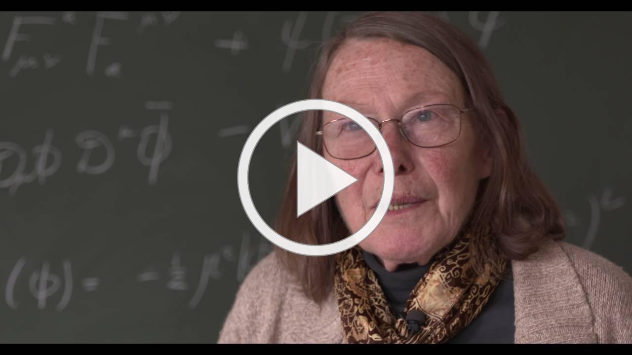 One woman's journey in physics: Mary K Gaillard