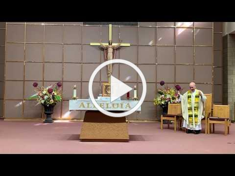 Sunday Mass for April 26, 2020, the Third Sunday of Easter