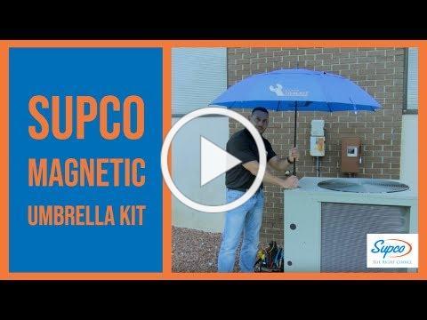 Supco® Magnetic HVAC Umbrella Kit - The Tech's Toolkit