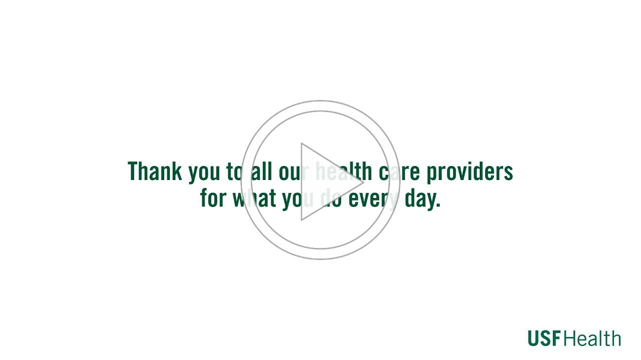 Thank You to Our Health Care Providers