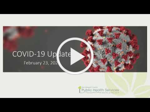San Joaquin Board of Supervisors COVID-19 Update 2-23-2021