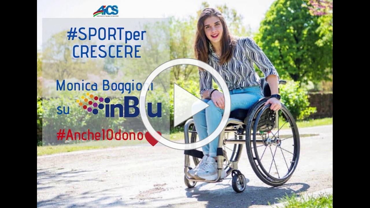 #SPORTperCRESCERE - MONICA BOGGIONI per AiCS
