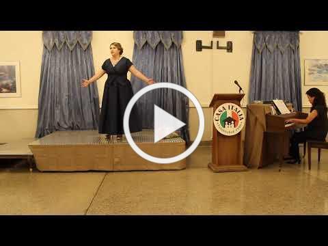 Vocal Scholarship - IAET Scholarship Winner - November 10, 2019 - Video 1 of 2