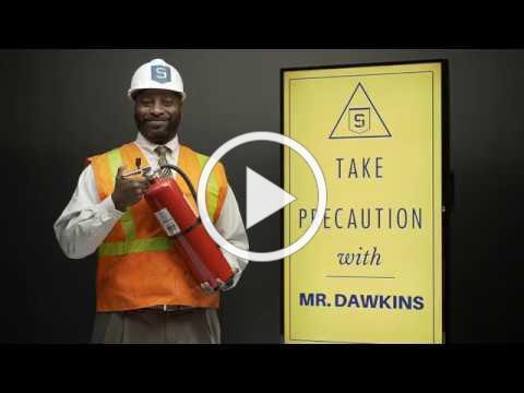 TAKE PRECAUTION WITH MR. DAWKINS: FIRE SAFETY 2018