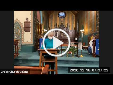 Grace Galena Wednesday Eucharist 12 16 20