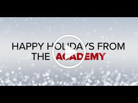 Happy Holidays from the Academy 2018