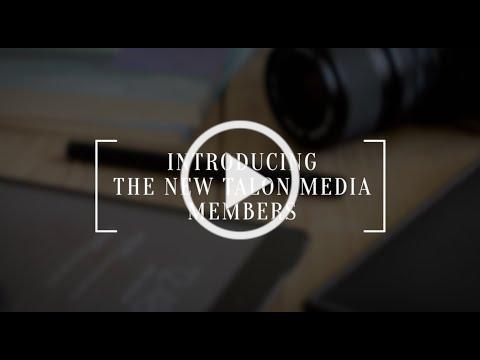 Introducing new members of 2020-2021 Talon Media members!