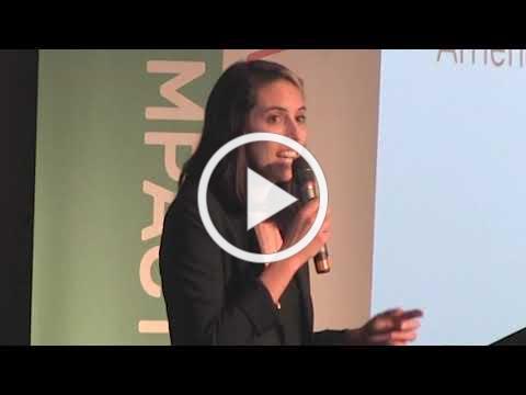 Katherine Fox speaks at VertueLab/OEN Impact Summit September 2018