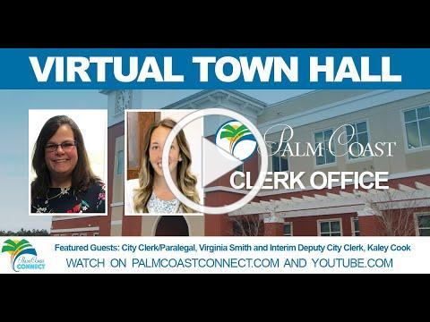 Virtual Town Hall: City Clerk's Office