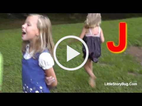 Preschool Activity - J is for Jumping Jacks - Littlestorybug
