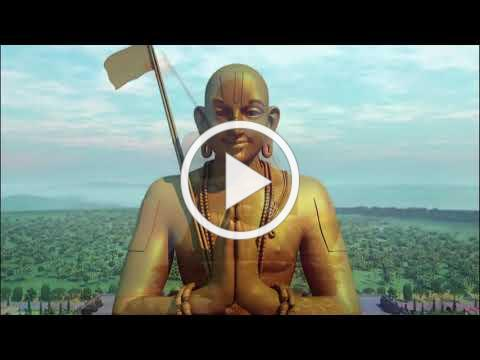 Official Video Statue of Equality - World's second tallest sitting statue of 216 ft