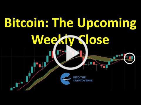 Bitcoin: The Upcoming Weekly Close
