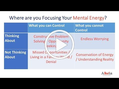 Terry Talk - How are you directing your mental energies?