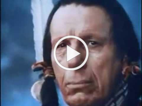 Keep America Beautiful - (Crying-Indian) - 70s PSA Commercial