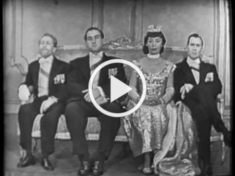 SID CAESAR: The Four Englishmen II (YOUR SHOW OF SHOWS - VERY rare sketch)