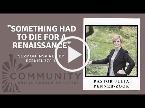 Sermon Pentecost Sunday May 23, 2021