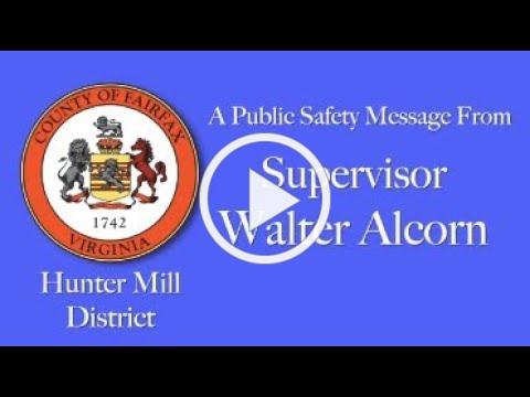 Safe Roads Public Safety Message: Glade Drive at Charterhouse Circle