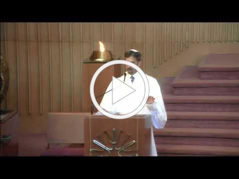 Rosh Hasahanh Rabbi Spilker's Sermon