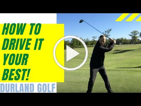 GOLF TIP | How To Drive It Your Best!