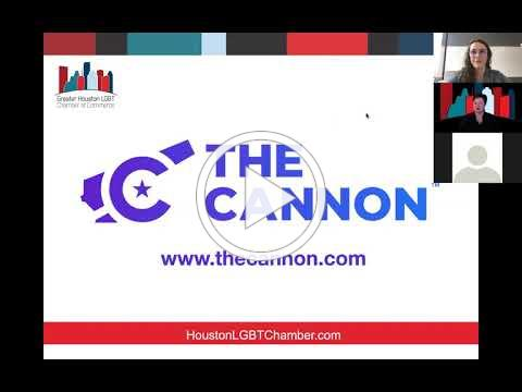 Cannon Connect Demo with Greater Houston LGBT Chamber 9 23 20