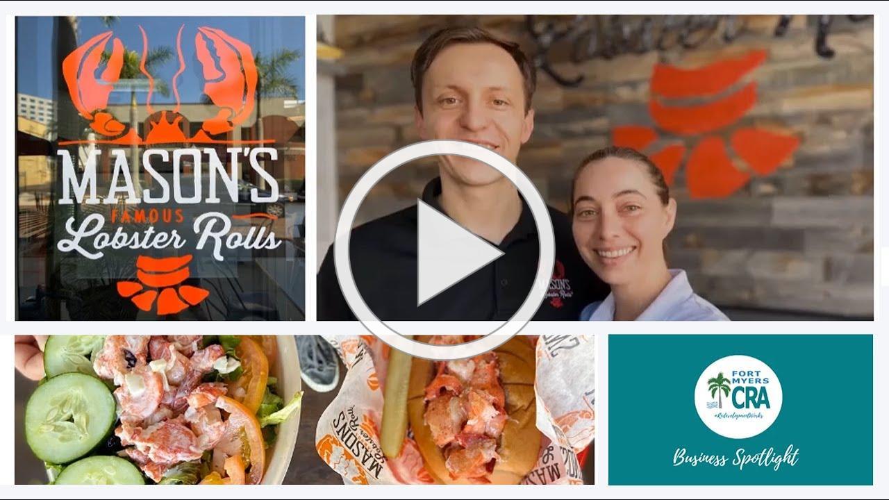 Spotlight: Mason's Famous Lobster Rolls in Downtown Fort Myers