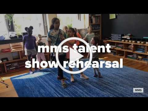 Let's Be Friends: Mountaineer Montessori Talent Show Rehearsal 2019
