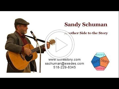 Sandy Schuman: 3 Stories & 2 Songs in 5 Minutes