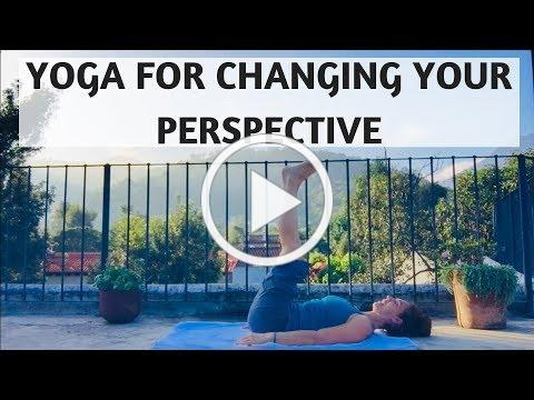 YOGA FOR CHANGING YOUR PERSPECTIVE | YOGA WITH MEDITATION MUTHA