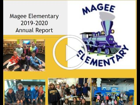 Magee Annual Report Message