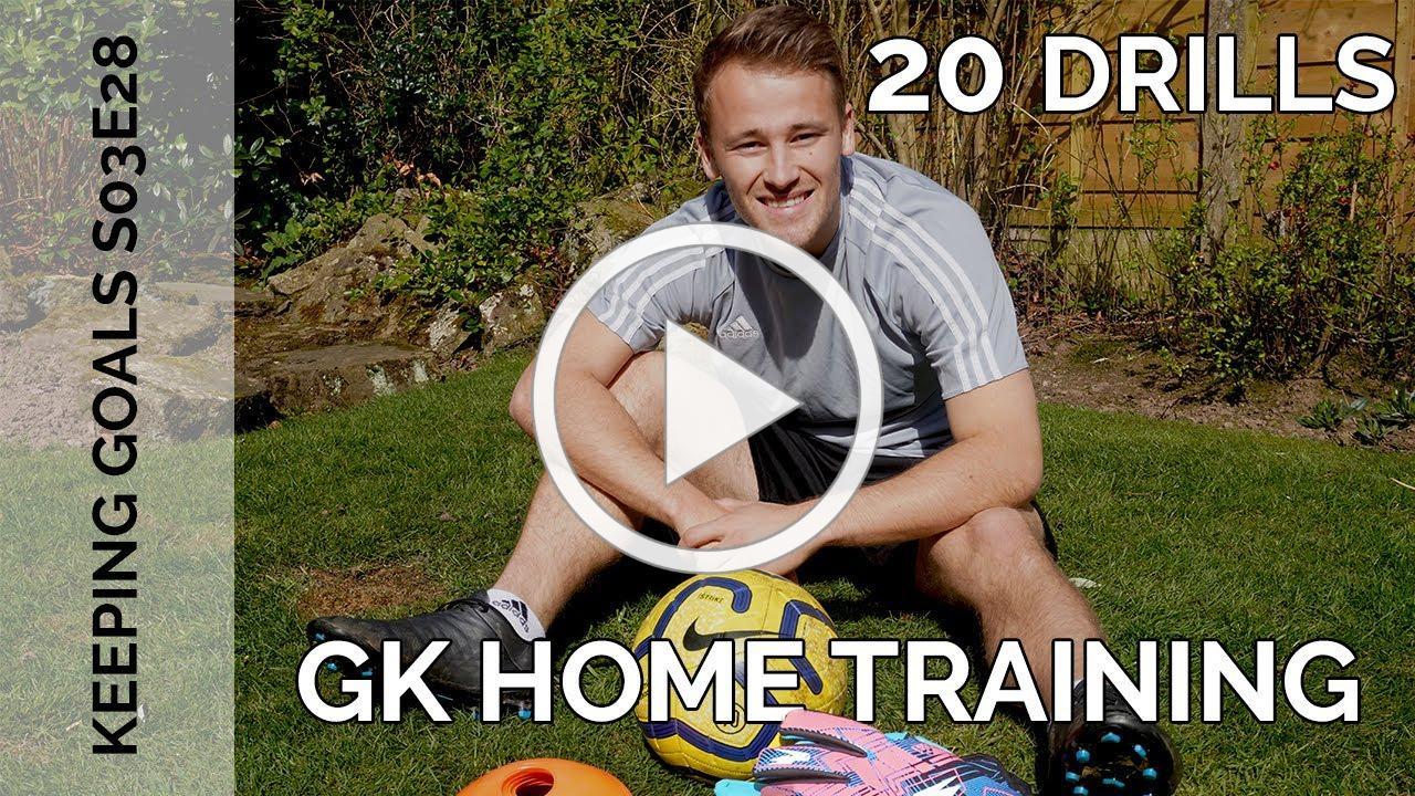 Garden Drills for Goalkeepers | Keeping Goals - S3Ep28