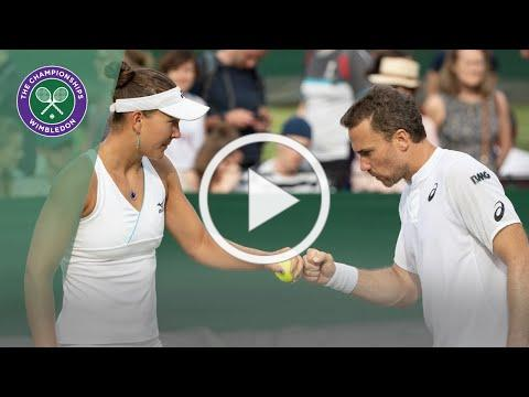 Match Point: Bruno Soares/Nicole Melichar vs Andy Murray/Serena Williams Wimbledon 2019