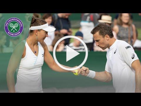 Match Point: Bruno Soares/Nicole Melichar vs Andy Murray/Serena Williams Wimbledon 2019