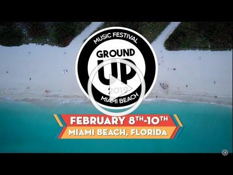 GroundUP Music Festival 2019 Lineup