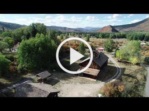 Holden/Marolt Mining & Ranching Museum Bird's Eye View