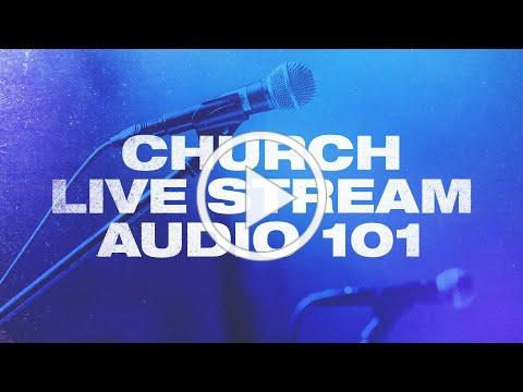 Church Livestream Audio Setup for Absolute Beginners!