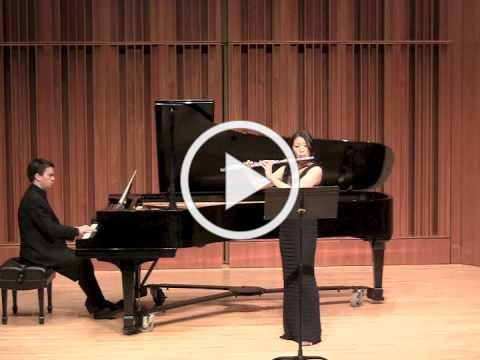 Sabrina Hu Flute Bloch Suite Modale