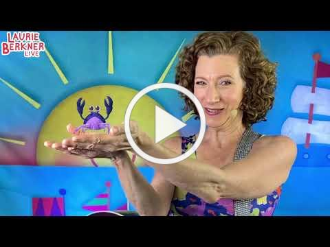 Come To Laurie Berkner's Pajama Party Livestream Concert is THIS SUNDAY 9/20/2020!