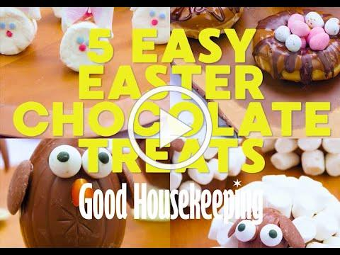 Good Housekeeping | Easter Recipes | Easter Chocolate Treat Desserts