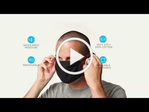 How to Use Your Hanes Cloth Face Mask